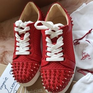 Christian louboutin red Sneakers